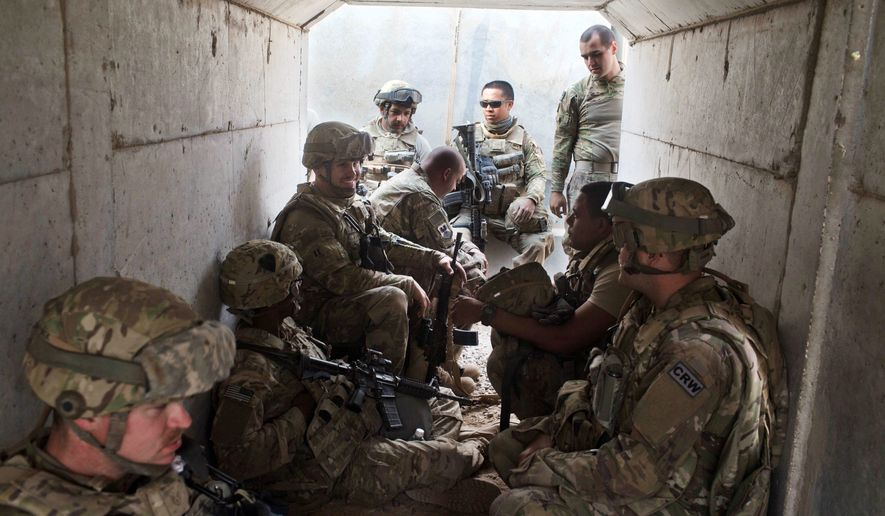 There are an estimated 7,000 overall U.S. military personnel in Iraq, including several hundred Special Forces fighters advising the Iraqi army in the siege of Mosul. (Associated Press)