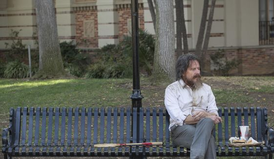 "This image released by IFC Films shows Bryan Cranston in a scene from, ""Wakefield."" (Gilles Mingasson/IFC Films via AP)"