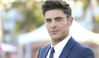 "Zac Efron arrives at the U.S. Premiere of ""Baywatch"" at Lummus Park on Saturday, May 13, 2017, in Miami Beach, Fla. (Photo by Omar Vega/Invision/AP)"