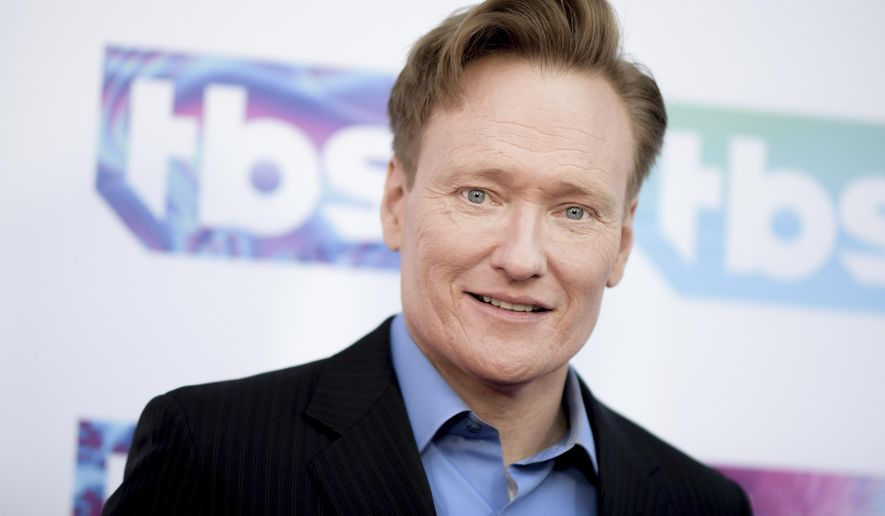"""FILE - In this May 24, 2016 file photo, Conan O'Brien attends """"A Night Out With"""" FYC Event held at The Theatre at Ace Hotel in Los Angeles. Turner says TBS has closed a new deal with Conan O'Brien that runs through 2022. TBS and sister Turner network TNT plan to launch a total of six new series with such stars as Snoop Dogg, Daniel Radcliffe and Michael Moore.(Photo by Richard Shotwell/Invision/AP)"""