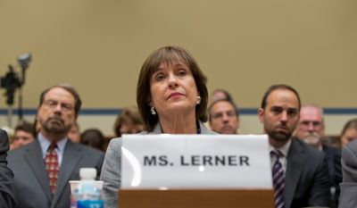 Former IRS executive Lois Lerner fears threats if her testimony in the tea party-targeting scandal is made public. A judge agreed her testimony can be secret for now. (Associated Press)