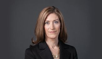 Rachel Brand was confirmed by the Senate to the No. 3 position at the Department of Justice on Wednesday, May 18, 2017. (Image: Screen grab from https://www.law.gmu.edu/faculty/directory/fulltime/brand_rachel)