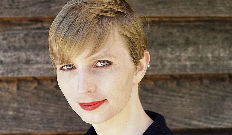 Army Pvt. Chelsea Manning, the transgender soldier formerly known as Bradley Manning, is allowed to remain in the military and undergo sex reassignment procedures under a directive issued last year by Obama administration Defense Secretary Ashton Carter. (Associated Press/File)