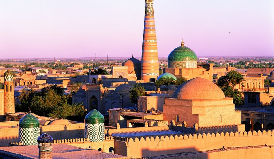 Much of the architecture in Uzbekistan reflects ancient Persian history.