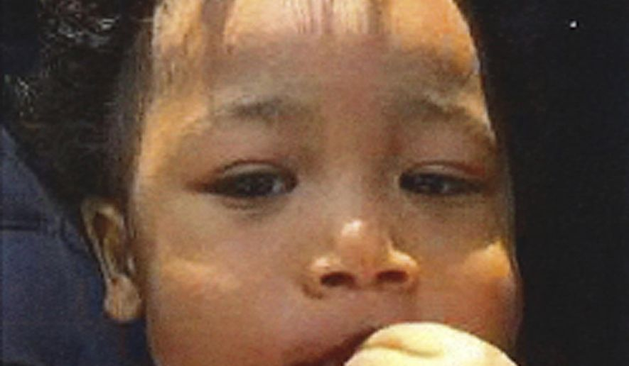 This undated photo released by the California Highway Patrol shows Makai Bangoura. California authorities have issued an Amber Alert for Bangoura, a 1-year-old boy, who police say was kidnapped from San Francisco and traveling with Jason Lam, a possibly suicidal man. (California Highway Patrol via AP)