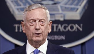 Defense Secretary James Mattis' authority to set U.S. troop levels for Afghanistan and the fight against Islamic State could ease the bitter bureaucratic battles that divided the Obama White House and the Pentagon over war strategy. (Associated Press/File)