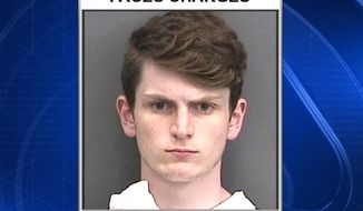 Devon Arthurs, 18, was charged by Tampa police with two counts of first-degree murder for the May 19 shooting deaths of Jeremy Himmelman, 22, and Andrew Oneschuk, 18. (Fox News 13 Tampa screenshot)