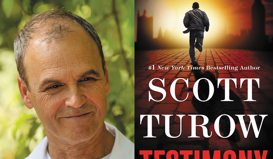 "Scott Turow is touring to promote his latest novel, ""Testimony.""  (Regional Arts Commission)"