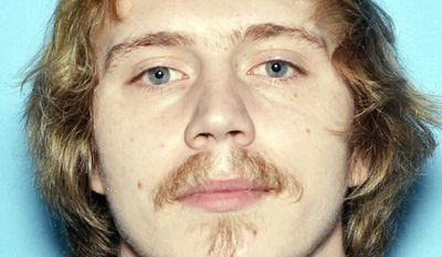 This undated photo released by the Anchorage Police Department shows Victor Sibson. A judge has entered a not guilty plea for Sibson, an Alaska man accused of killing his girlfriend after he shot himself and the bullet traveled through his head and hit his girlfriend in the chest. (Anchorage Police Department via AP)