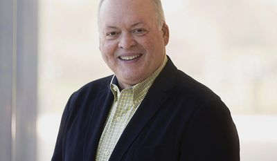 This undated photo provided by Ford Motor Co. shows Jim Hackett, chairman of Ford Smart Mobility LLC, a subsidiary of Ford Motor Co. He was named to the position March 10, 2016. Ford is replacing its CEO amid questions about its current performance and future strategy, a person familiar with the situation has said. Mark Fields will be replaced by Hackett, who joined Ford's board in 2013. (Ford Motor Co. via AP)