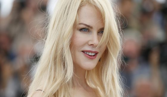 Actress Nicole Kidman poses for photographers during the photo call for the film The Killing Of A Sacred Deer at the 70th international film festival, Cannes, southern France, Monday, May 22, 2017. (AP Photo/Alastair Grant)