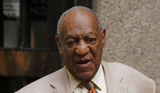 Bill Cosby leaves after attending jury selection in his sexual assault case at the Allegheny County Courthouse, Monday, May 22, 2017, in Pittsburgh, Pa. The case is set for trial June 5 in suburban Philadelphia. (AP Photo/Gene J. Puskar)