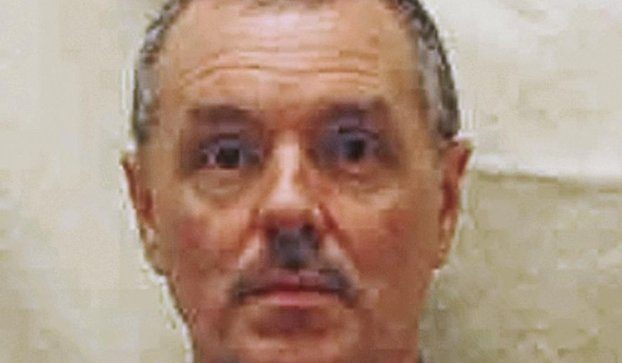 "This undated file photo provided by the Ohio Department of Rehabilitation and Correction shows Donald Harvey, a serial killer who became known as the ""Angel of Death."" Harvey, who was serving multiple life sentences, was found beaten in his cell on March 28, 2017, at the state's prison in Toledo, state officials said. He died Thursday morning, said JoEllen Smith, spokeswoman for Ohio's prison system. Ohio authorities investigating the fatal prison beating of Harvey has said they're in no hurry to file charges. (Ohio Department of Rehabilitation and Correction via AP)"