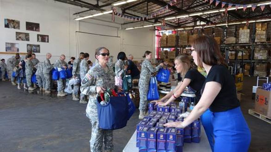 """USO offers """"care packages"""" from Giant Food. Image courtesy of Giant Food."""