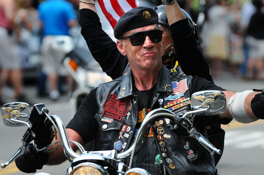 Artie Muller, national executive director and founder of Rolling Thunder, Inc.