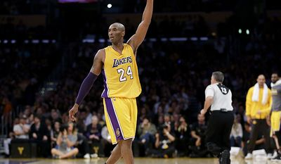 4.Kobe Bryant played his entire career with the Los Angeles Lakers, straight from high school and won five NBA Championships with the club. Bryant was an All-Star eighteen times and was a member of the All-NBA team fifteen times. He also led the league in scoring twice and is third all-time in NBA regular season and post season scoring. Bryant played in every All-Star game during his career and won four All-Star MVP Awards. Bryant earned $350 million from his NBA salary and  lucrative contacts with McDonald's, Nike and many others