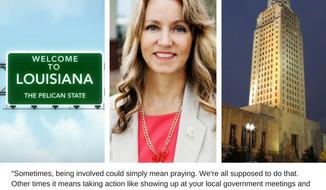 Louisiana State Representative Beryl Amedee