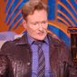 "Comedian Conan O'Brien was asked on Tuesday if CBS ""Late Show"" host Stephen Colbert has gone too far with his jokes aimed at President Donald Trump. (YouTube, ""Watch What Happens Live with Andy Cohen"" screenshot)"