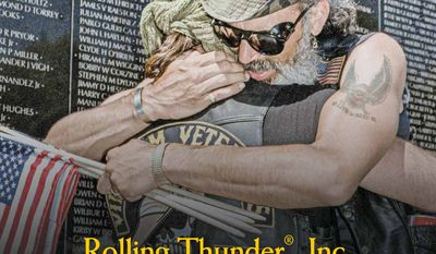 Rolling Thunder Inc. Holds 30th Ride for Freedom cover (available in the May 25, 2017, edition of The Washington Times)