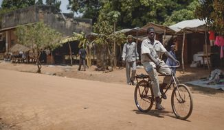 People in the Central African Republic are starting to feel safe again after one of the world's bloodiest sectarian conflicts. (Associated Press/File)