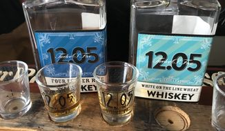 12.05 Distillery in Indianapolis makes craft spirits, some with Indiana corn.  (Eric Althoff/The Washington Times)