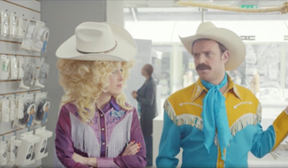 Still image captured from a McDonald's UK ad which represented South Carolina with stereotypical images more often associated with Texas. (YouTube/The State).