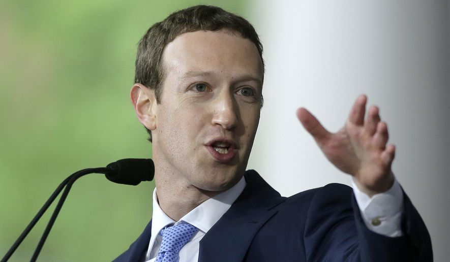 Facebook founder Mark Zuckerberg says he is on a fact-finding mission to look into the lives of his customers, but politicos say the visits look like the sort of activity of someone preparing for a presidential run. (Associated Press/File)