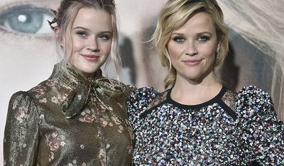 Ava Phillippe is the daughter of actors Reese Witherspoon, right and Ryan Phillippe