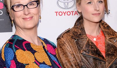 Actress Meryl Streep and daughter Mamie Gummer