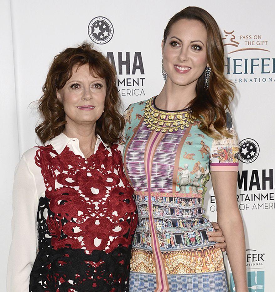 Susan Sarandon and her daughter actress Eva Amurri