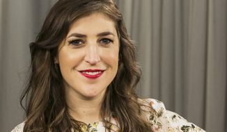 In this May. 23, 2017, photo, actress and author Mayim Bialik poses for a photo in Los Angeles. (AP Photo/Damian Dovarganes)
