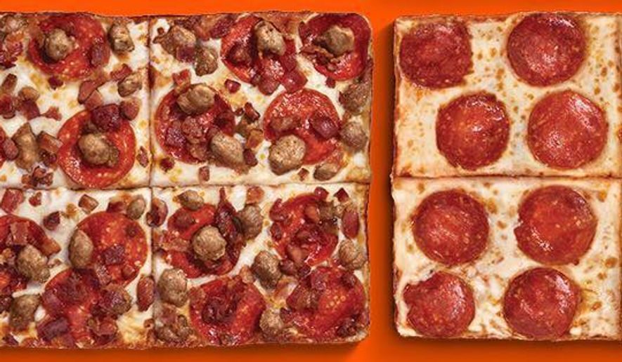 "Little Caesar's pizzas are depicted here in this image from their Facebook page. The company is the target of a $100-million lawsuit in Michigan after a Dearborn man claims he ate a pork-laden pizza that was mistakenly labeled ""halal,"" a religious designation in the Muslim faith akin to the Jewish faith's kosher designation."