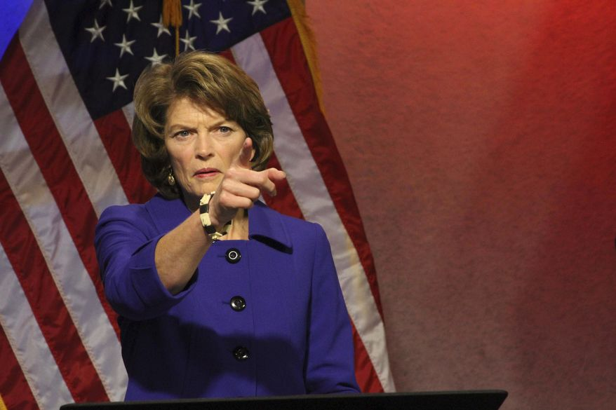 Sen. Lisa Murkowski's support is tied to a bill — which would be wrapped into the tax package — that would open 2,000 acres of ANWR to oil drilling in the Arctic National Wildlife Refuge. (Associated Press/File)