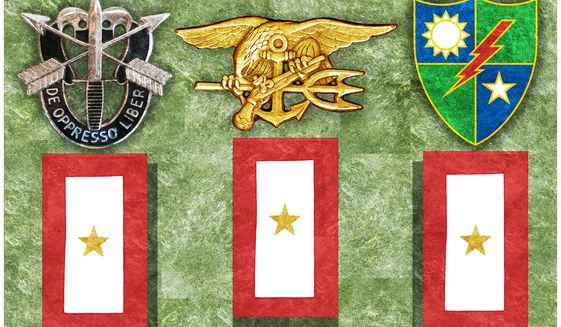 Illustration on remembering the sacrifices of U.S. Special Operators by Alexander Hunter/The Washington Times