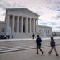 The Supreme Court term concludes at the end of June. (Associated Press)