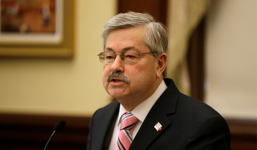 Former Iowa Gov. Terry Branstad is now the ambassador to China, and he hopes to convince the Chinese that a tariff on ethanol is against their own interests. (Associated Press)
