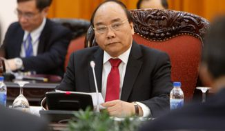 Vietnam's Prime Minister Nguyen Xuan Phuc will meet President Trump at the White House on Wednesday. (Associated Press)
