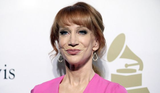 In this Feb. 11, 2017, file photo, comedian Kathy Griffin attends the Clive Davis and The Recording Academy Pre-Grammy Gala in Beverly Hills, Calif. (Photo by Rich Fury/Invision/AP, File)