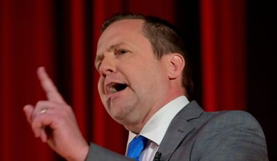 Virginia gubernatorial candidate Corey Stewart, who lacks the finances of GOP rival Ed Gillespie, is taking his message to social media to reach voters, a strategy he says worked for President Trump. Mr. Stewart worked for Mr. Trump's campaign but was fired. (Associated Press)