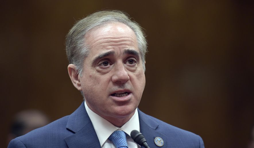 In this photo taken May 11, 2017, Veterans Affairs Secretary David Shulkin testifies on Capitol Hill in Washington. (AP Photo/Susan Walsh, File)