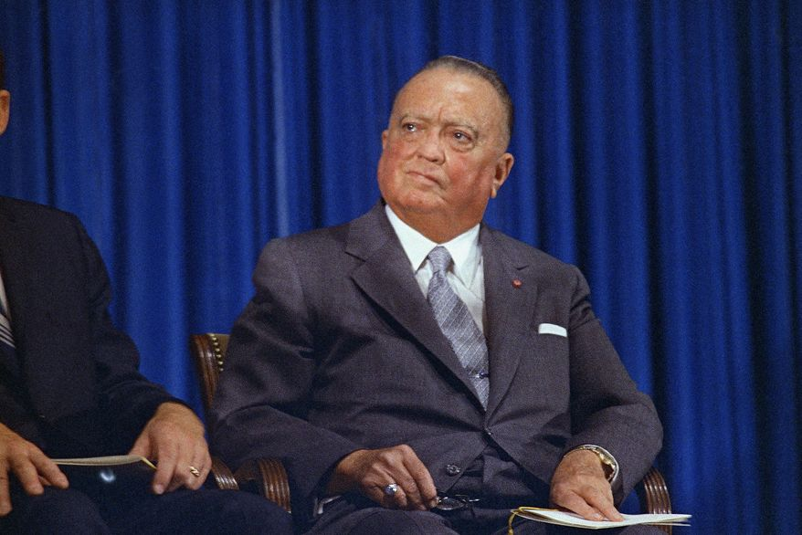 J. Edgar Hoover was FBI director from 1935 until his death in 1972. (Associated Press)
