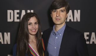 "Demetri Martin, right, and Rachael Beame arrive at the LA Special Screening of ""Dean"" at the ArcLight Hollywood on Wednesday, May 24, 2017, in Los Angeles. (Photo by Willy Sanjuan/Invision/AP)"