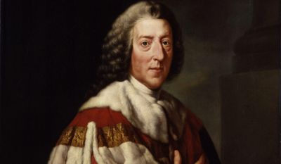 William Pitt the Elder, British prime minister, 1st Earl of Chatham
