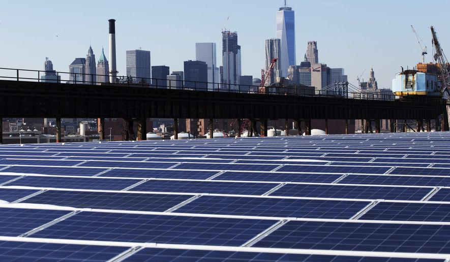 Proposed tariffs might give short-lived protection to a handful of privileged American solar manufacturers, but they would doom the broader U.S. solar industry and its customers by removing inexpensive choices from the market. (Associated Press/File)