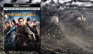 """Matt Damon and a whole bunch of ferocious creatures star in in """"The Great Wall,"""" now available on 4K Ultra HD from Universal Studios Home Entertainment."""