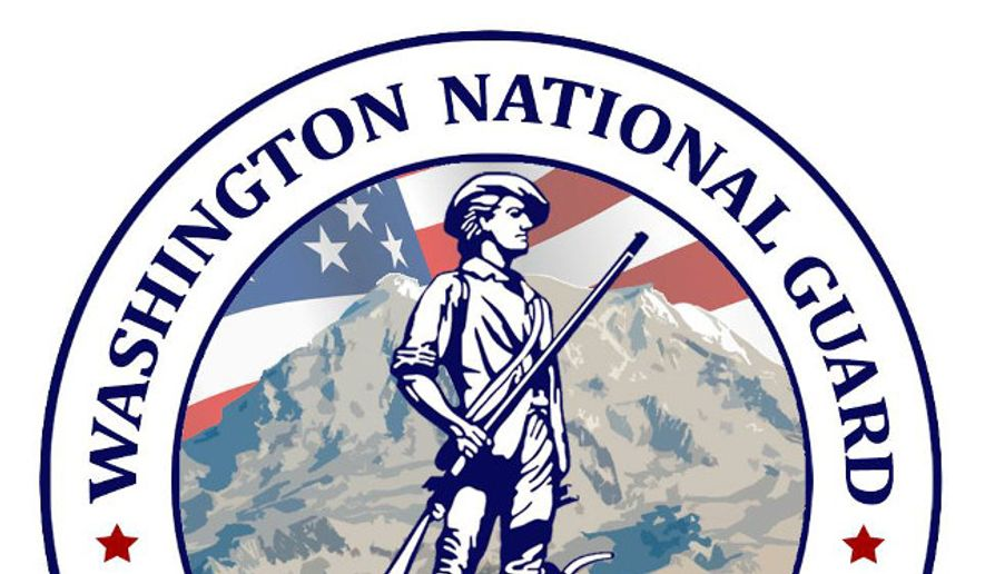 Logo for the Washington National Guard, from its official Facebook page (Facebook).