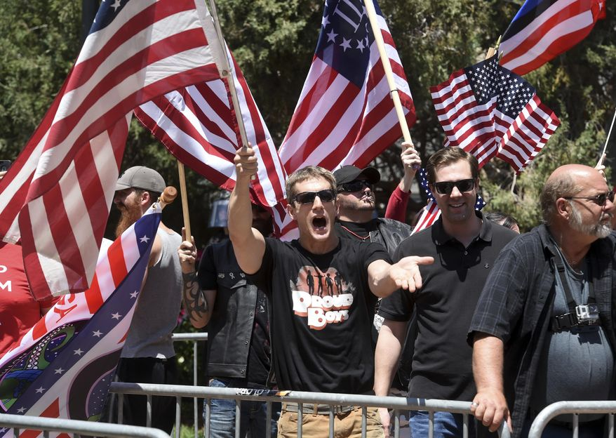 """Participants in the Better Angels' """"One America"""" events lament that people are putting political beliefs ahead of country. (Associated Press/File)"""