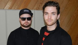 Ben Thatcher (left) and Mike Kerr of Royal Blood.  (Dave Kapp)