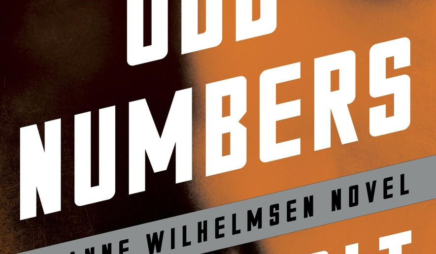 "This cover image released by Scribner shows ""Odd Numbers,"" by Anne Holt. (Scribner via AP)"