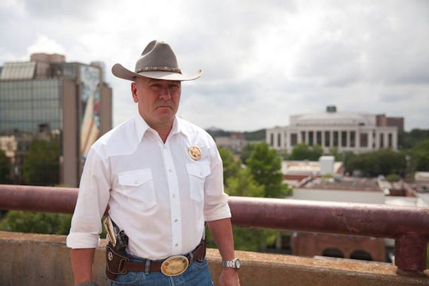 "Newly elected Rep. Clay Higgins is gaining widespread attention for a Facebook post in response to Saturday's London terrorist attack that called on the United States to hunt down radicalized Islamic suspects and ""kill them all."" (Facebook/@Captain Clay Higgins)"